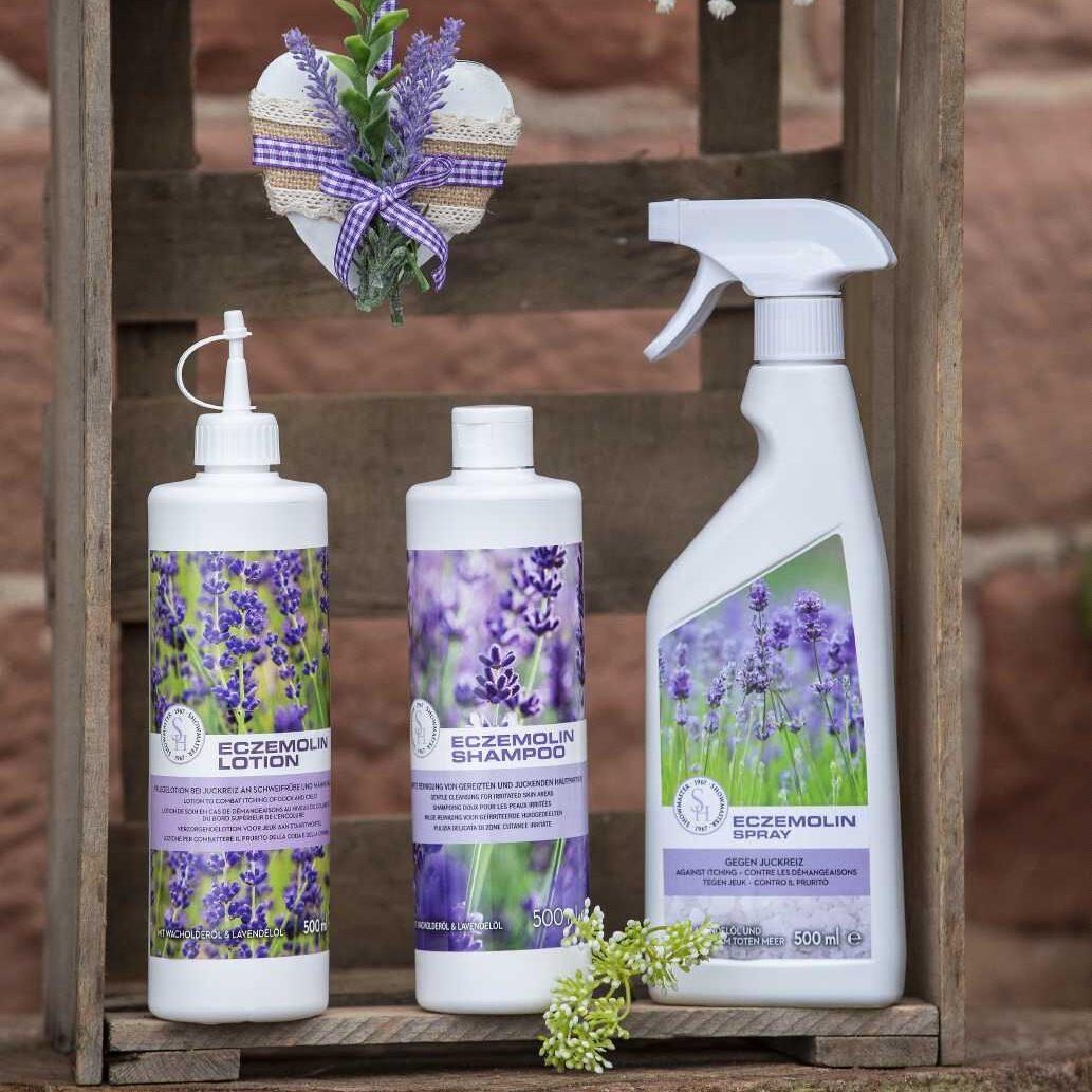 Ekzemer Pflegeserie mit Lavendel